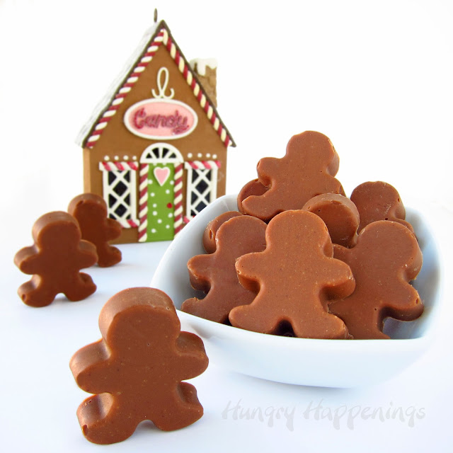 Cute Little Gingerbread Man Truffles For The Holidays