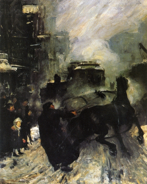 1908 Steaming Streets