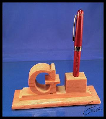 Scrollsaw Workshop Simple Desk Pen Holder Scroll Saw Pattern