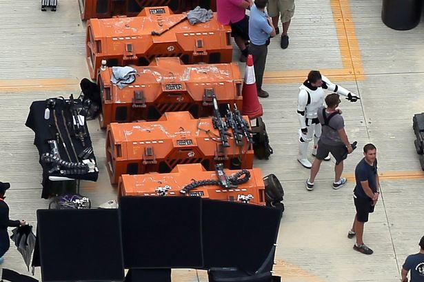 Fotos rodaje Star Wars: Rogue One