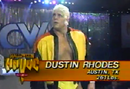 WCW Halloween Havoc 1991 - Dustin Rhodes
