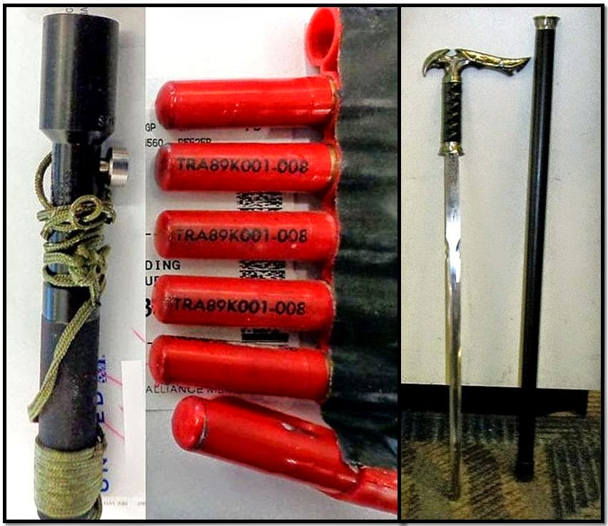 Flare Gun (AMA) - Sword Cane (OMA)