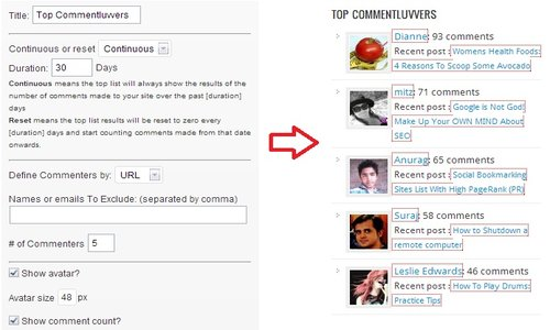 top commentluver widget