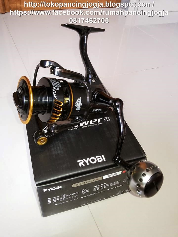 RYOBI AP POWER III 6000 8000 Rp1150rb