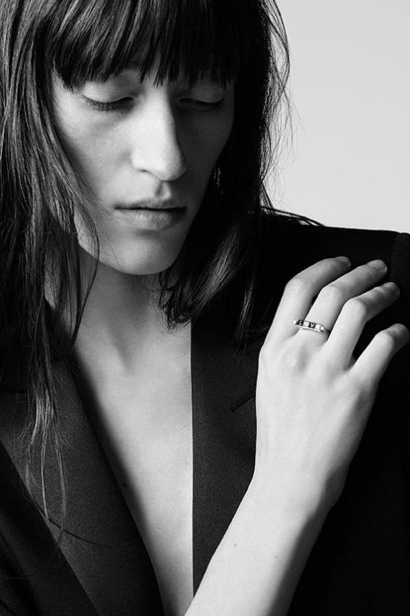 Saint Laurent Paris Pre-Fall 2015 Campaign featuring Helena Severin
