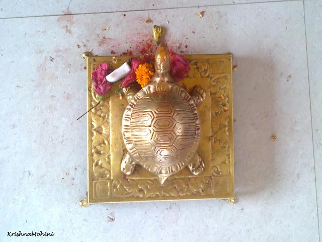 Image: Divine Tortoise in Devi Temple