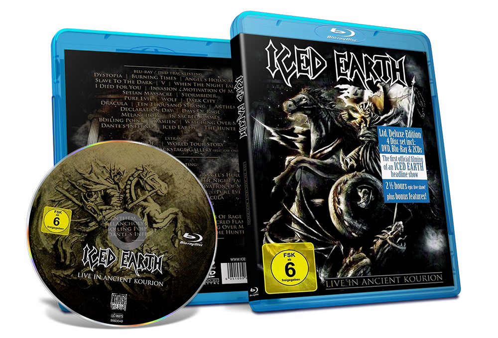 [Pedido] Iced Earth:Live in Ancient Kourion [Blu-ray 40GB]