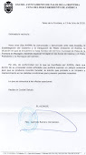 CARTA DEL ALCALDE DE PALOS A LOS VECINOS DE MAZAGÓN