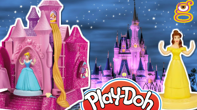 Vídeos de princesas disney con plastilina playdoh