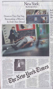 Cynthia von Buhler's Speakeasy Dollhouse research was recently featured in The New York Times.