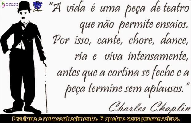 frase - Chales Chaplin