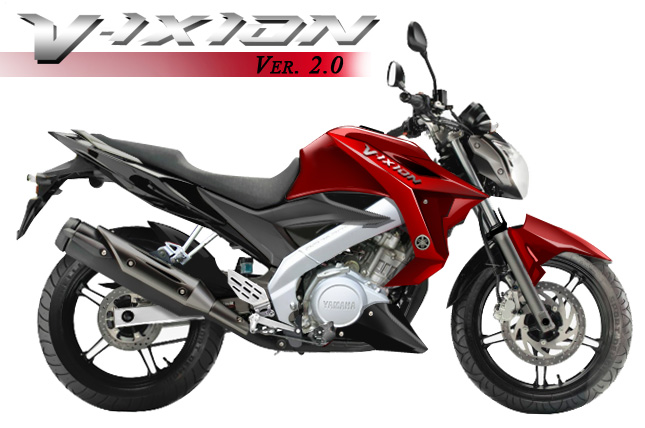 and serching in google, I saw the appearance of New Vixion 2013