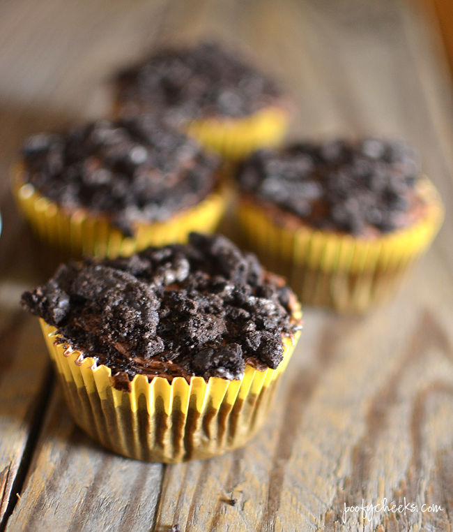 Oreo 'Dirt' Cupcakes - Oreo Cucpake Recipe