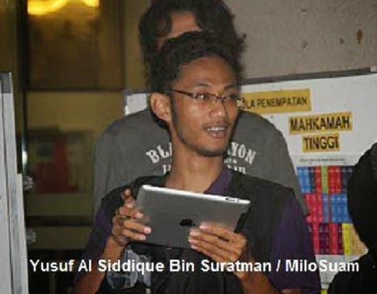 Blogger PKR Milosuam Dipenjara 2 Tahun Gara Gara Artikel Lahad Datu