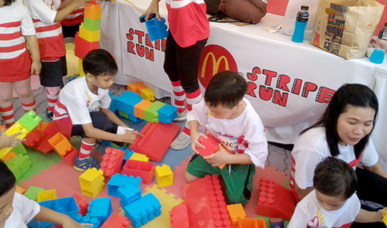 DAVAOENOS DASH FOR A CAUSE IN THE FIRST REGIONAL #McDoStripesRun