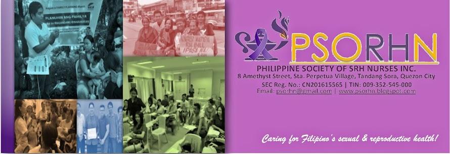 The Philippine Society of SRH Nurses Inc.