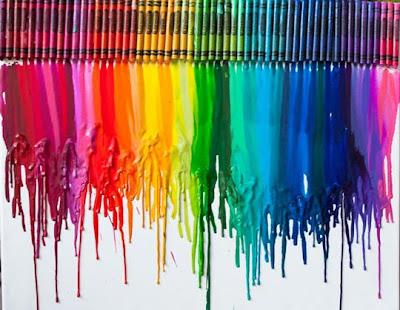 life is bella crayon art