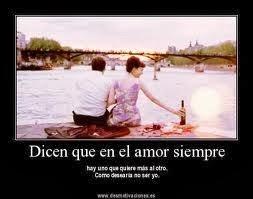 Frases De Amor: Dicen Que En El Amor Siempre Hay Uno Que Quiere Más Al Otro
