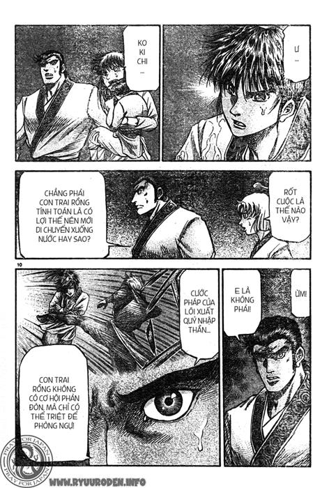 Chú Bé Rồng - Ryuuroden chap 215 - Trang 11