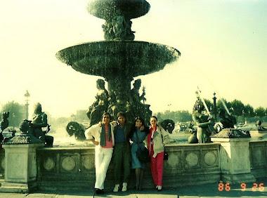 Paris, 1986, Terimakasih Banyak Oom Jackson Record dan Ibu, dari Marissa Haque & Ikang Fawzi