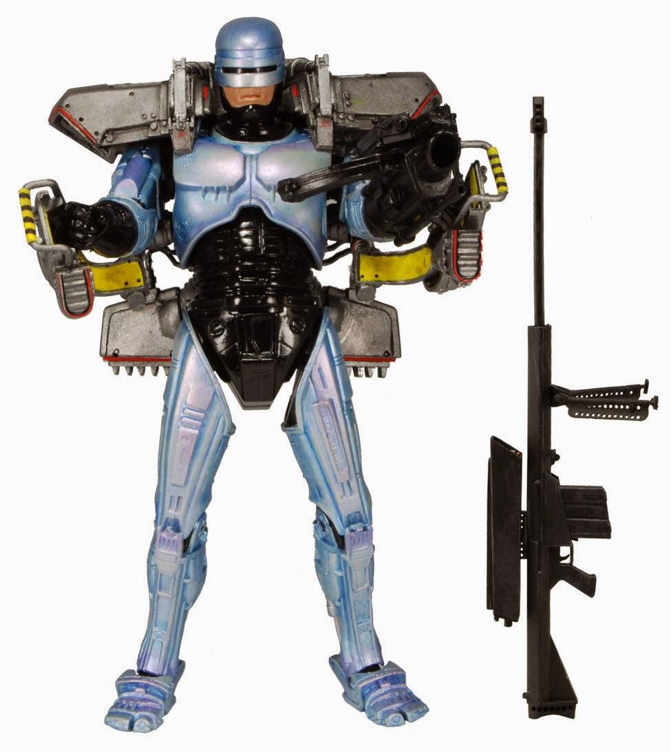 Figura Robocop deluxe con Jetpack NECA