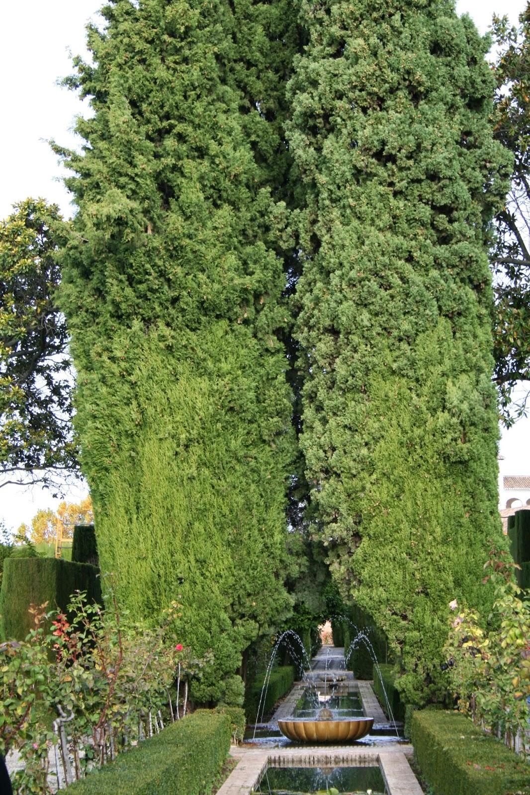 Maravillas ocultas de espa a granada la alhambra ii el for Jardines nazaries