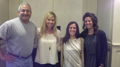 Dr. Saleeby, Kristin, Kelly and Lindsy