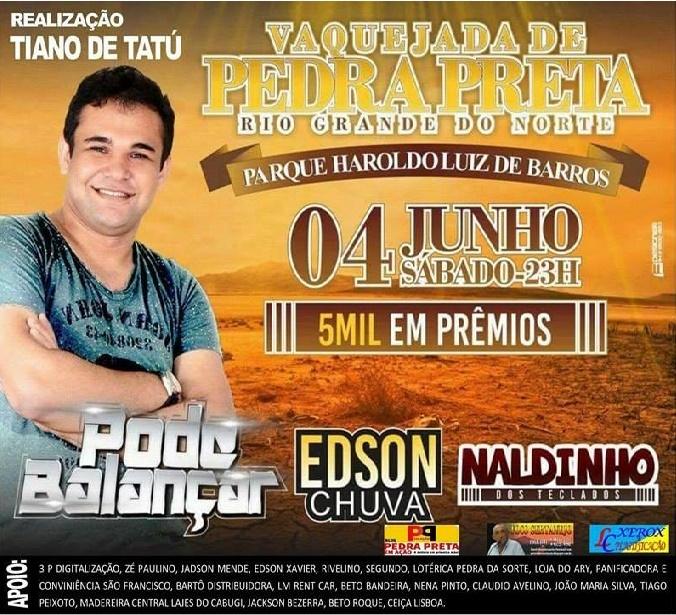VAQUEJADA DE PEDRA PRETA 04 DE JUNHO