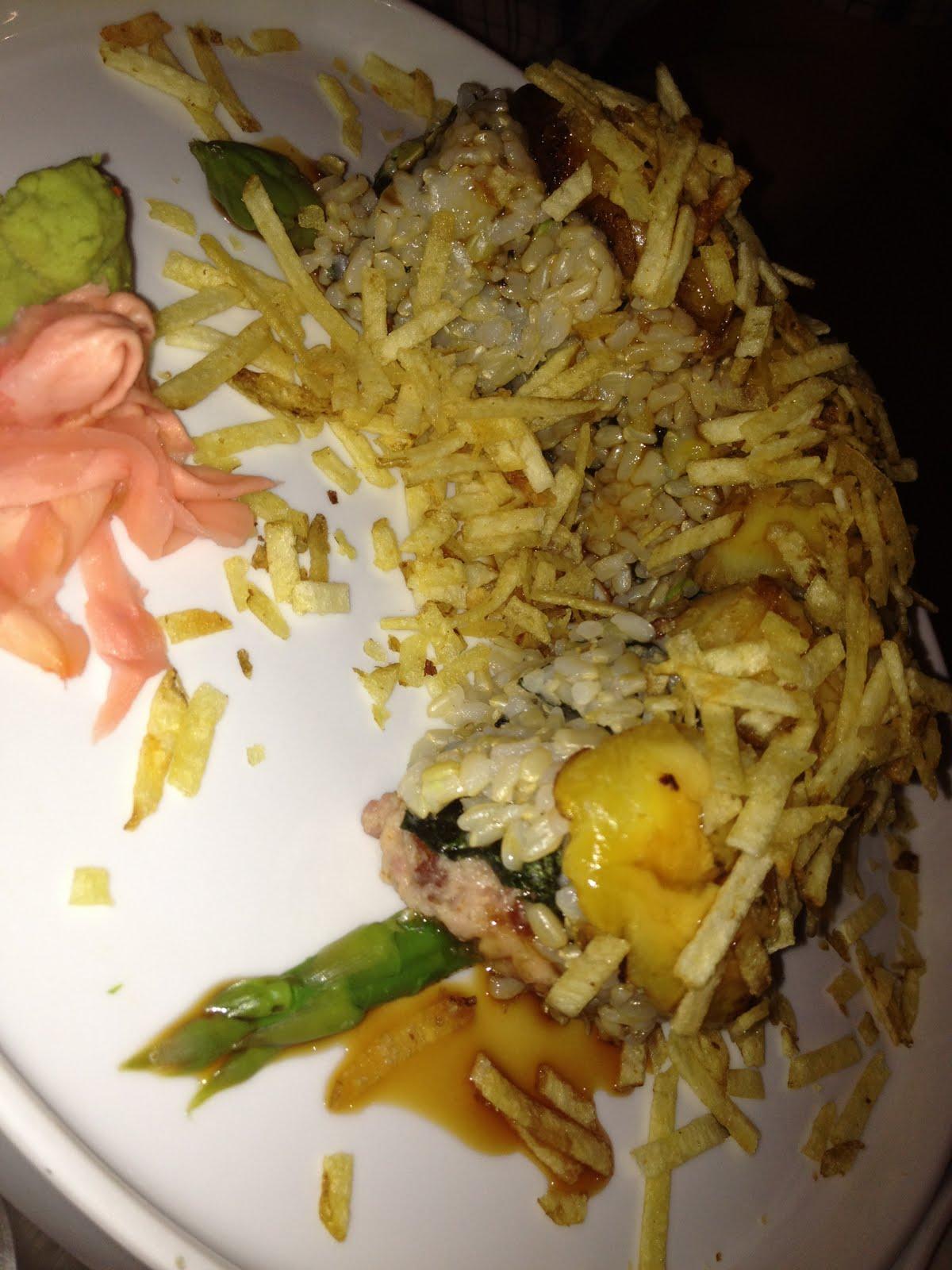 The Fat Girl Inside: Sushi Sake