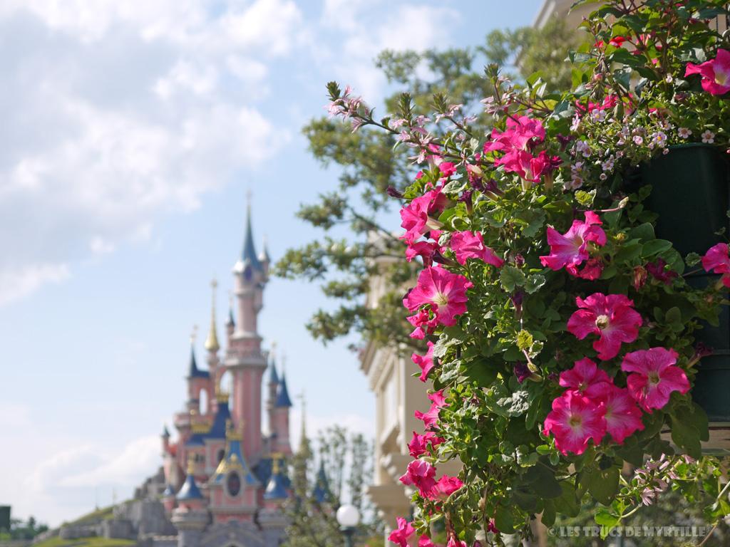 Fond d'écran #2 de AOÛT 2013, avec et sans le calendrier du mois - Disneyland Paris (photo juin 2013)