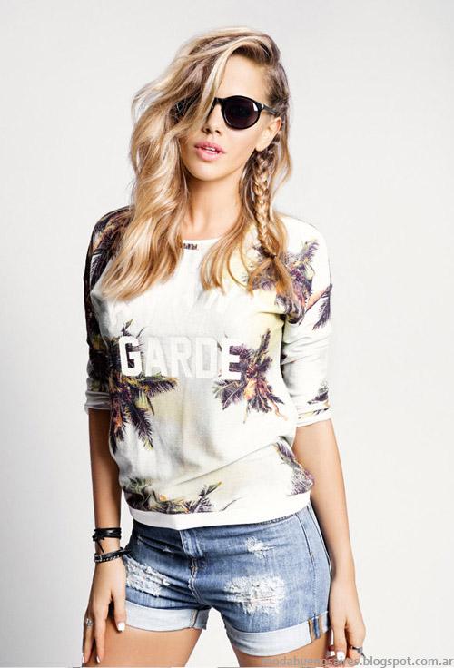 Tabatha Jeans verano 2015 remeras y sweaters.