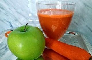 jus apel kombinasi wortel Untuk Diet Alami