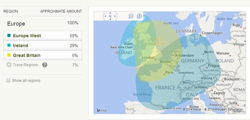 ethnicity estimates and origins map ancestry dna