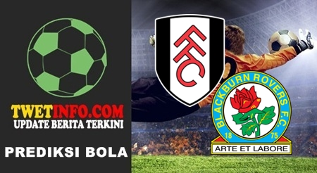 Prediksi Fulham FC vs Blackburn Rovers, Championship 13-09-2015