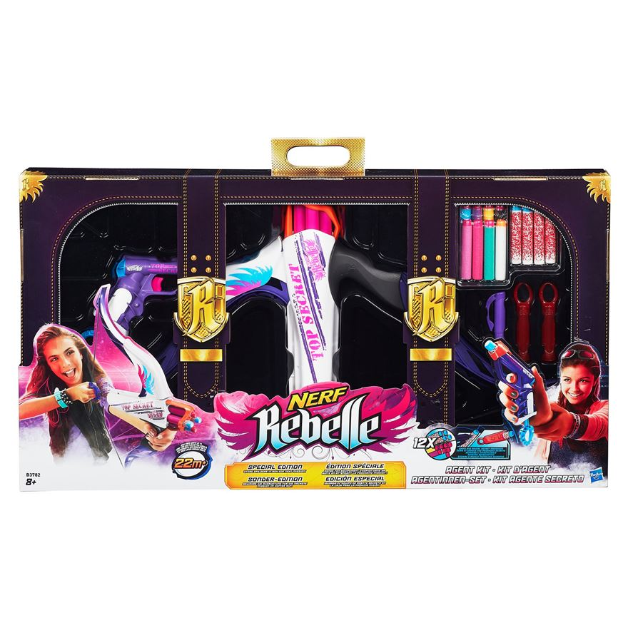 how to put together a nerf rebelle secret messenger bow