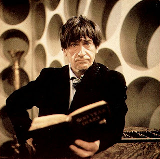 Troughton and book