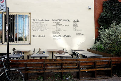 cafe menu on well