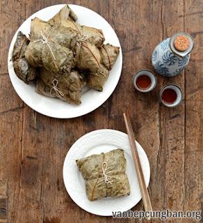 Cách làm xôi gà hấp lá sen thơm ngon11