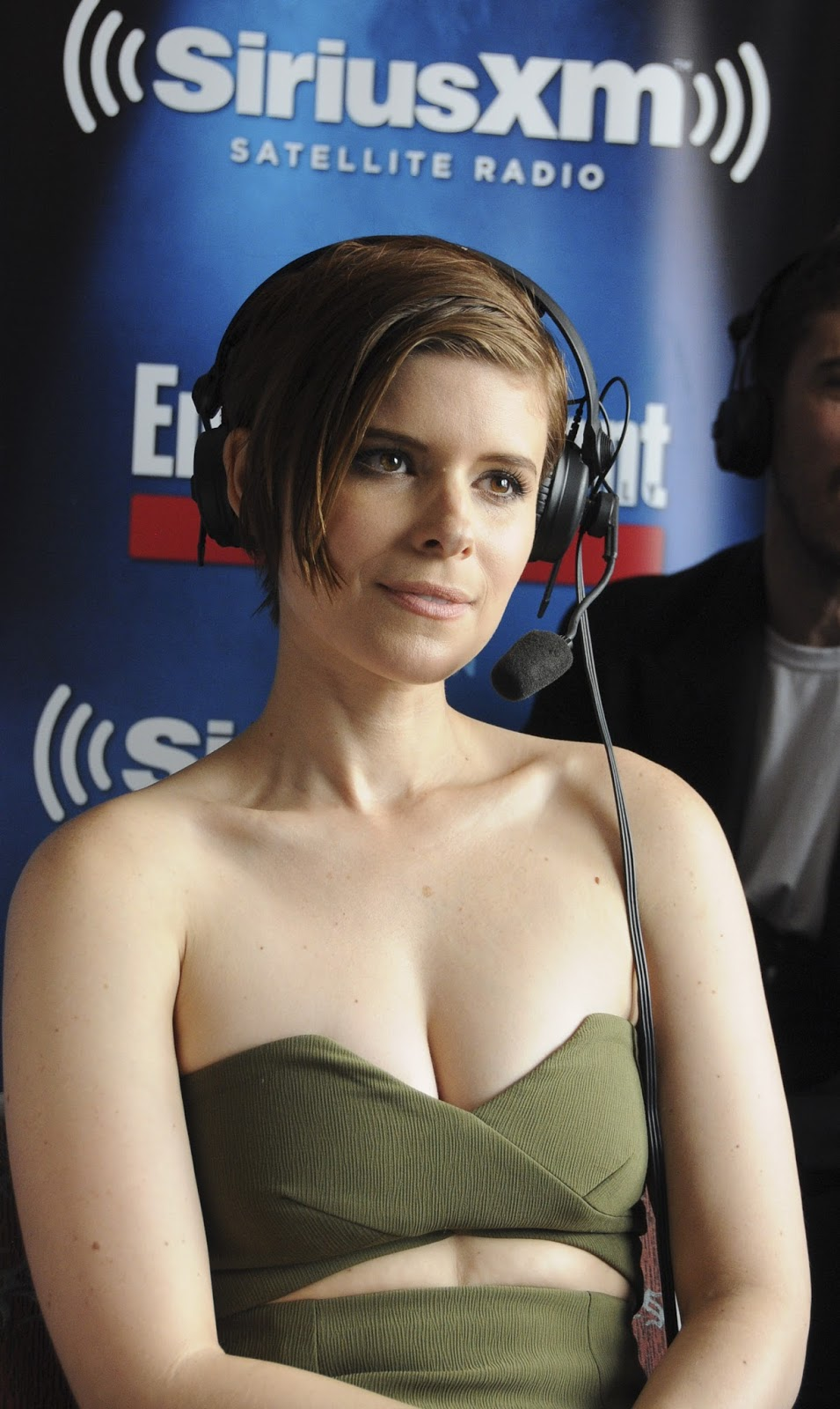 Actress @ Kate Mara - SiriusXM's EW Radio Channel Broadcasts From Comic-Con in San Diego