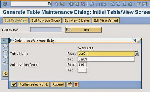 Time 4 sap security table level restriction for Level table sap