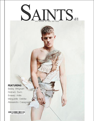 Premiere Issue of Saints Magazine featuring Ekaterina Kukhareva
