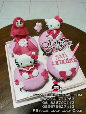 Cupcake Hello Kitty Cute