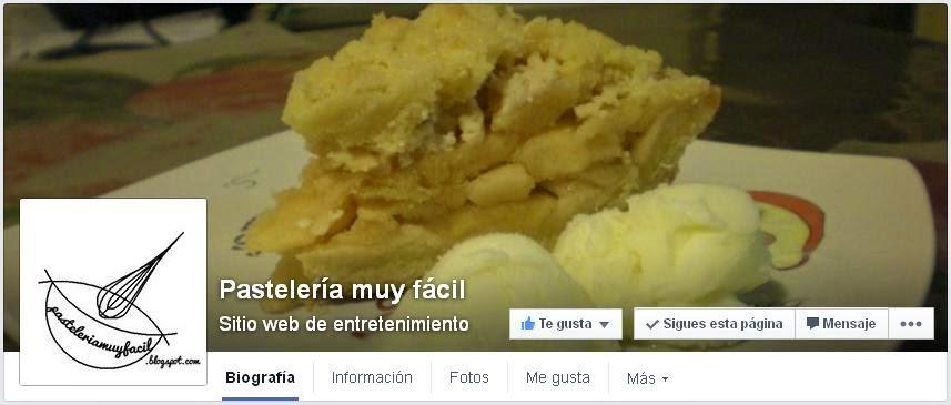 Pastelería Muy Fácil en Facebook