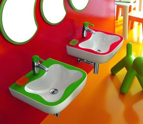Cuartos de ba o modernos para ni os ideas para decorar - Cuarto de bano infantil ...