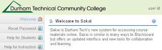Durham Tech Sakai Gateway
