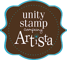 I am an Artista for Unity Stamp Company!
