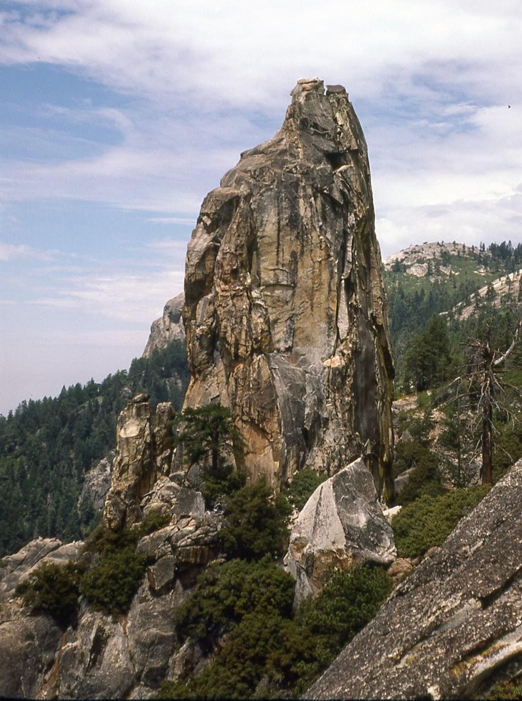 Chimney Rock Spire