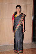 Actress Maneesha Photos in Saree-thumbnail-12