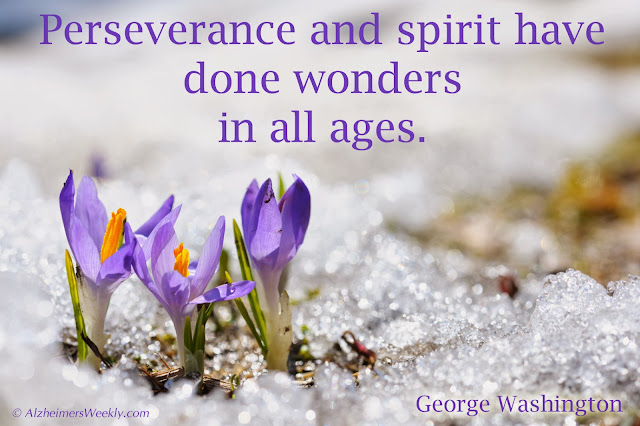 Perseverance and spirit have done wonders in all ages.