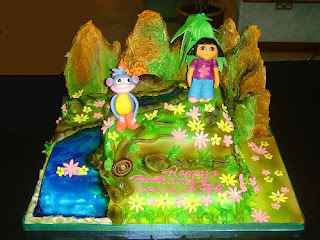 Dora Birthday Cakes For Kids